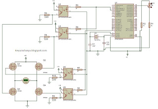 mosfet inverter with microcontroller pwm control