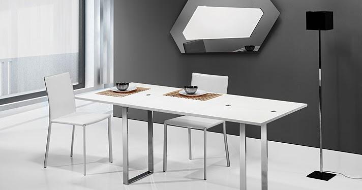 Mesas de comedor por la decoradora experta 5 mesas - Mesas para espacios pequenos ...