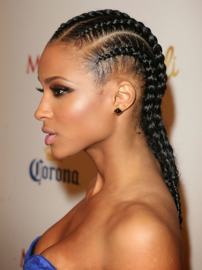 Pictures Of Black Braided Hair