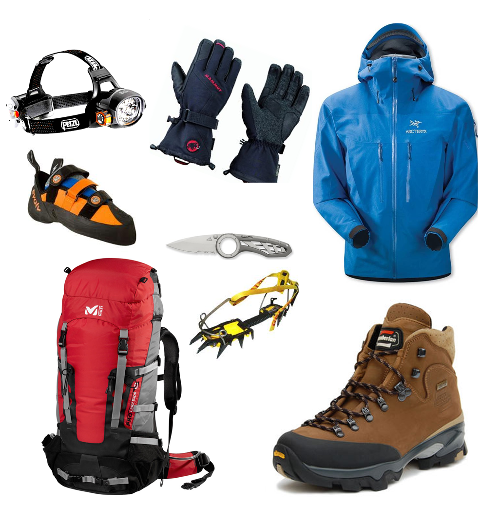 Image Gallery mountain hiking gear