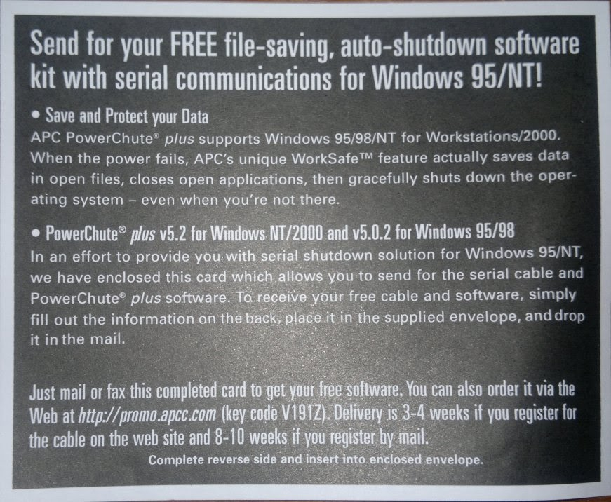 Free auto-shutdown software for Windows 95/NT