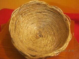 cestini spago e vinavil - come fare un cestino con lo spago - DIY корзины - DIY-Körbe - DIY baskets