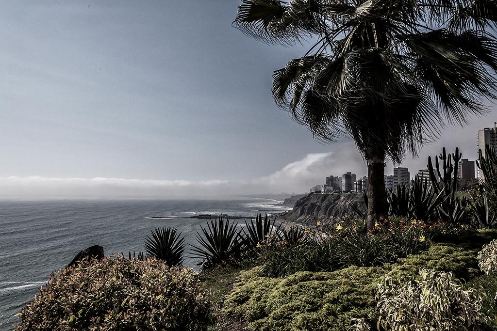 Vista del mar desde Miraflores