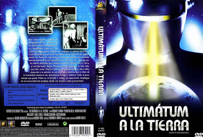 Cover, dvd, carátula: Ultimatum a la tierra (El dia que paralizaron la tierra) | 1951 | The Day the Earth Stood Still