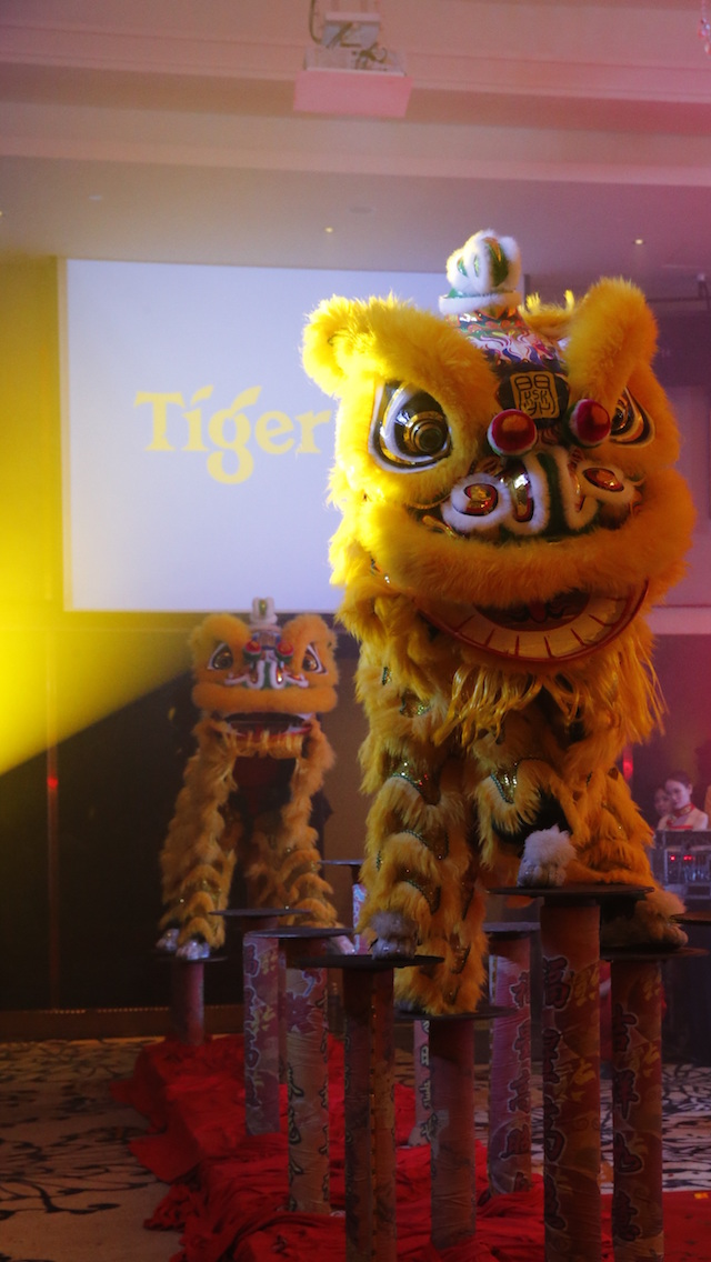 Tiger Beer Chinese New Year lion dance is coming to your nearest stores!