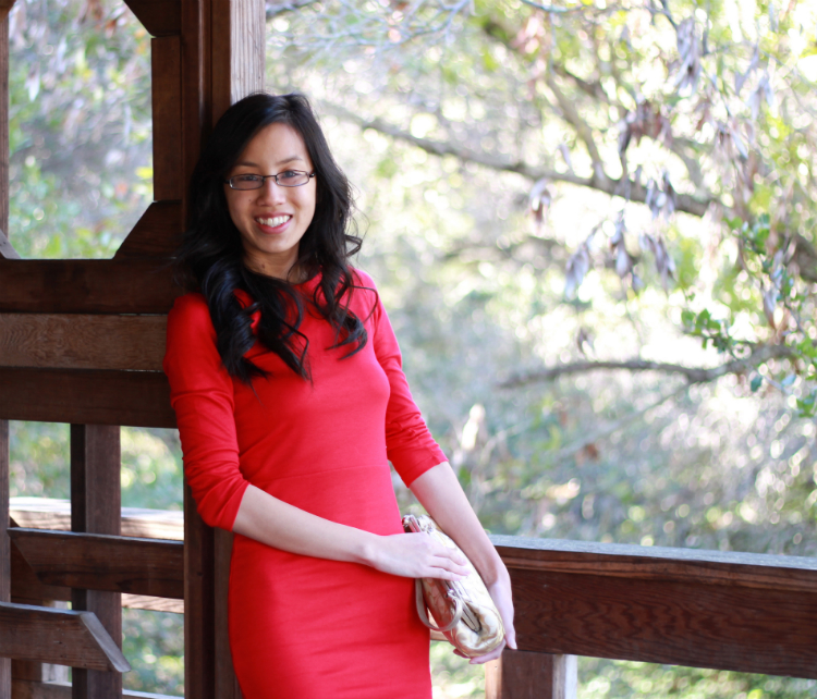 red and gold chinese new year outfit idea trend