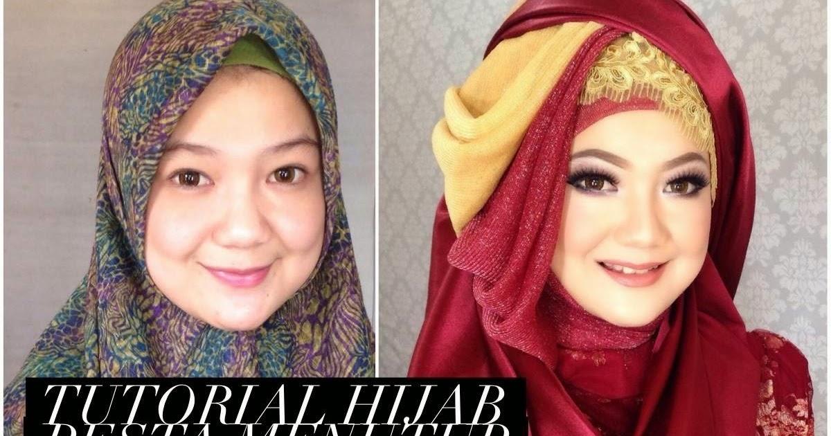 Ini Vindy Yang Ajaib: Tutorial Hijab Pesta Menutup Dada