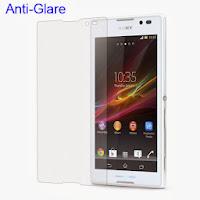 Matte Anti-Glare Screen Protector Sony Xperia C C2305 S39h
