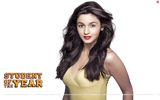 Student Of The Year Alia Bhatt HD Wallpaper