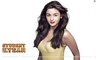 Student Of The Year Alia Bhatt HD Wallpaper