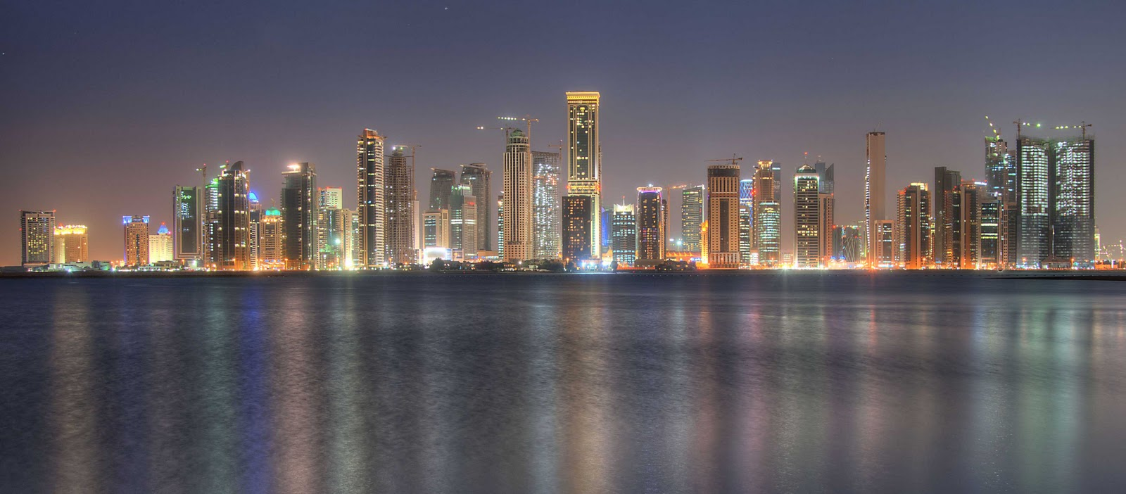 doha qatar hd wallpaper
