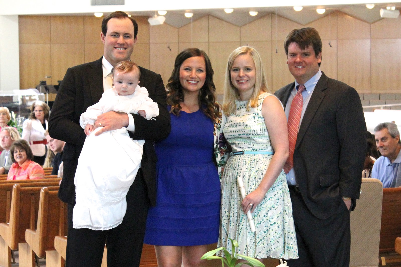 Turquoise & Gold: Henry\'s Baptism!