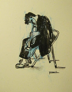 Young Chet Baker (Sold)