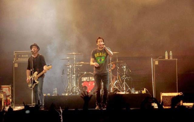 Simple Plan foi a última atração do Palco New Stage em 2011