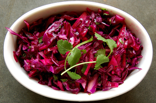 Asian-Style Slaw With Carrots, Cabbage & Cilantro