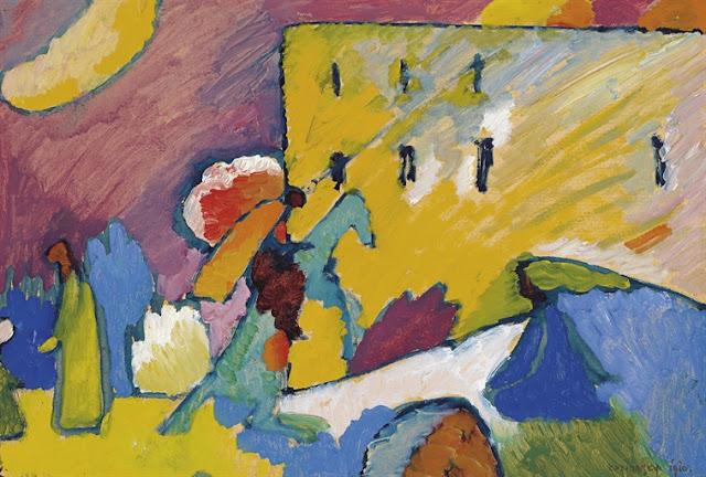 Studie zu Improvisation 3 by Wassily Kandinsky (1866-1944)