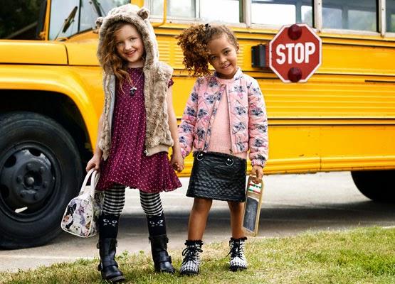 ropa niñas otoño invierno 2014 2015 H&M Vuelta al cole