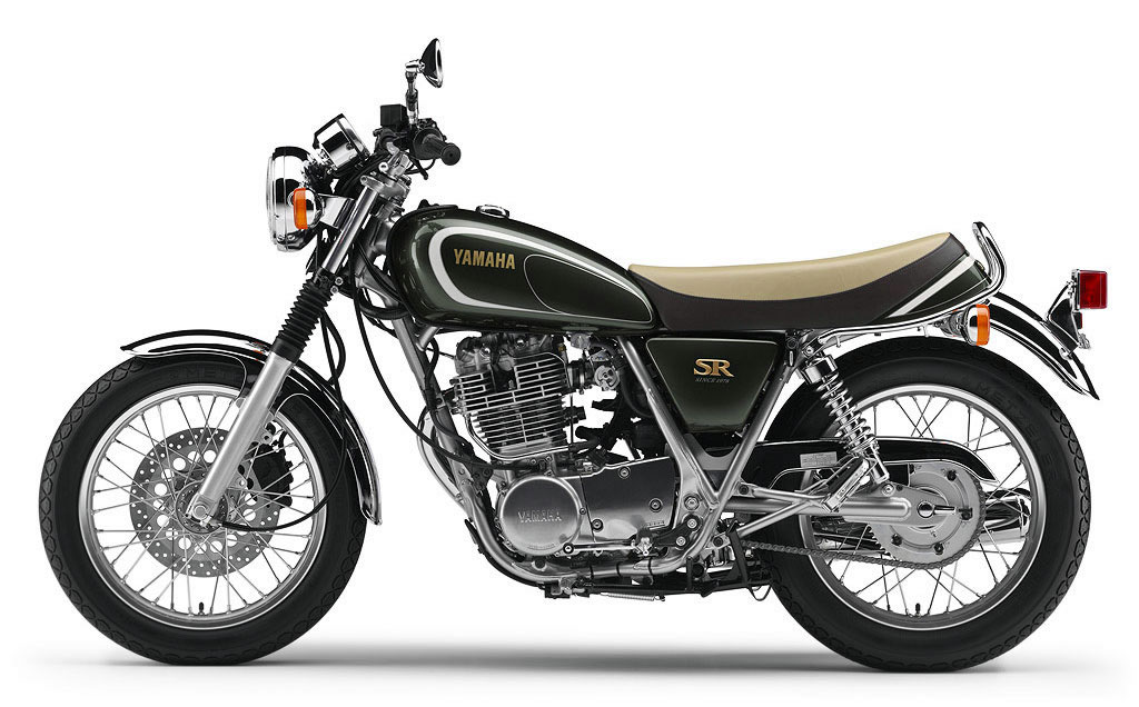yamaha sr400 35th anniversary edition and history
