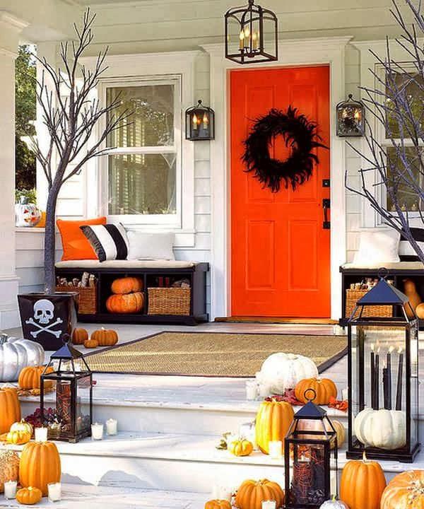 Decoracion para halloween en casa y en el exterior for Decoracion halloween para casa