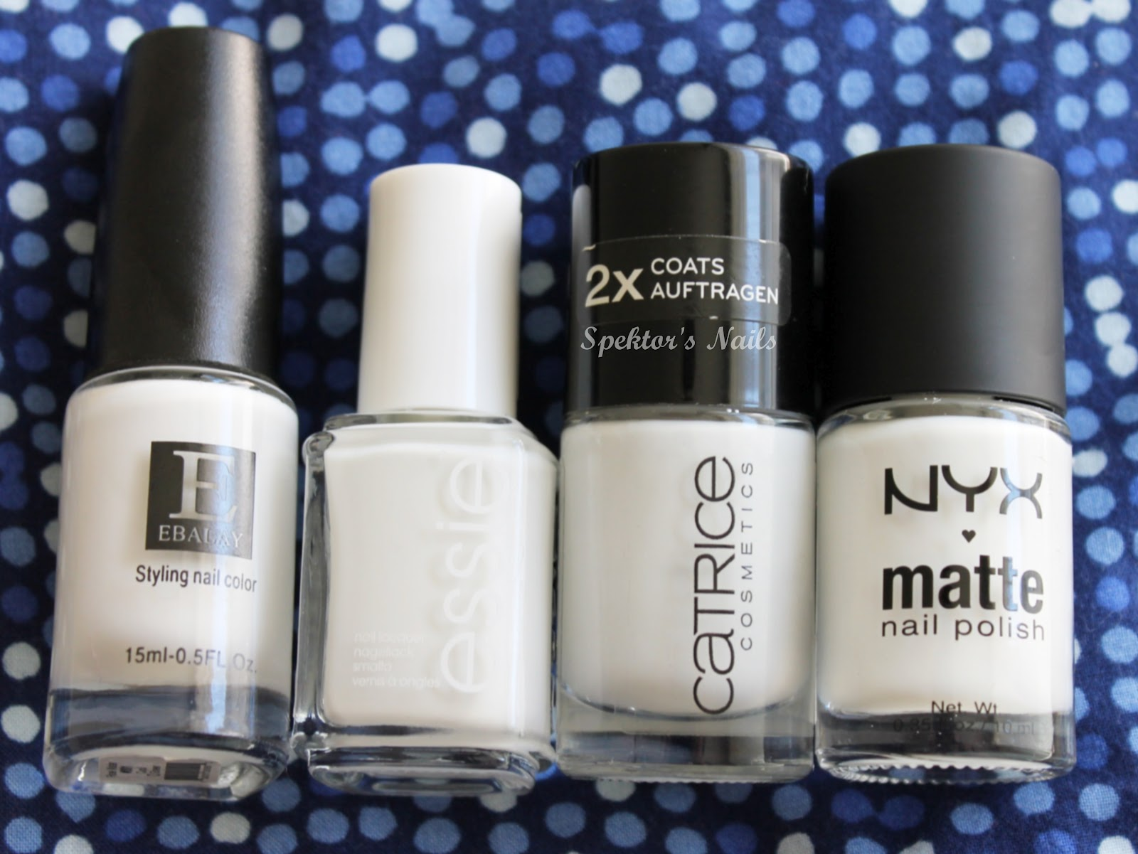 Spektor's Nails: Best White Nail Polish - The Comparison!