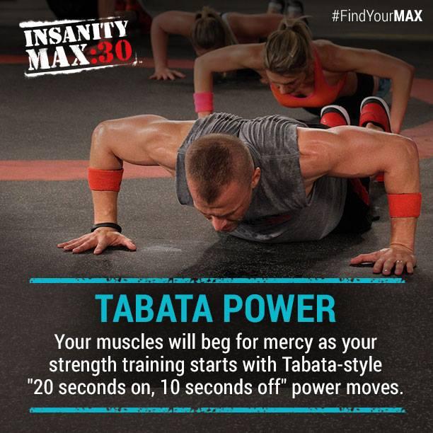 Insanity Max:30 - Tabata Power