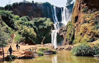 Tempat Wisata Air Terjun Ouzoud Maroko