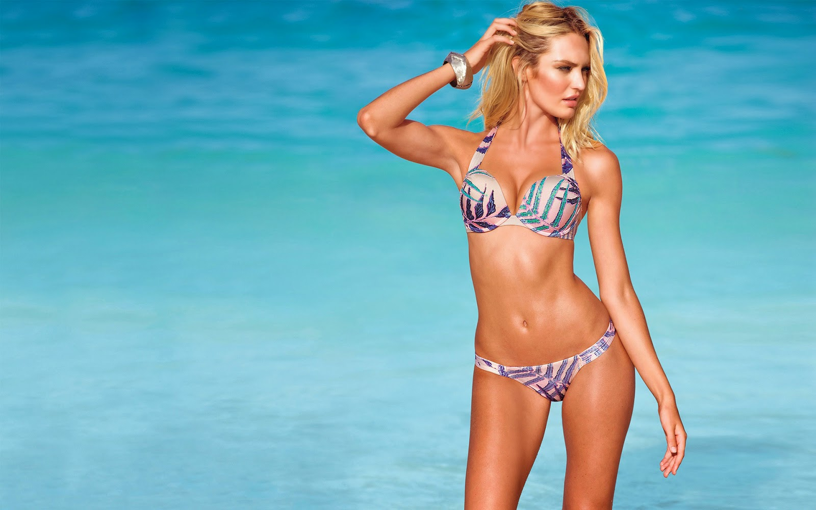 Global Gallery Candice Swanepoel Fashion Model