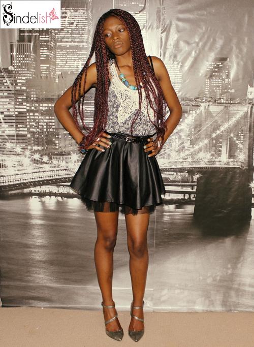 Afroboheme comment s 39 habiller pour la rentr e tenue rock - Tenue avec jupe en cuir ...