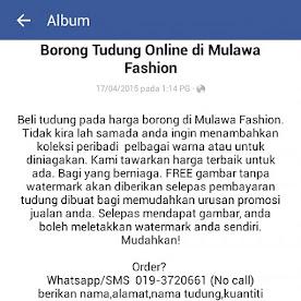 Album Tudung Borong Online