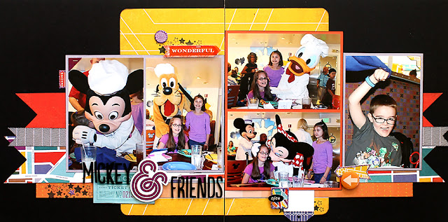 Chef Mickey's_Scrapbook Page_Disney World_Banner