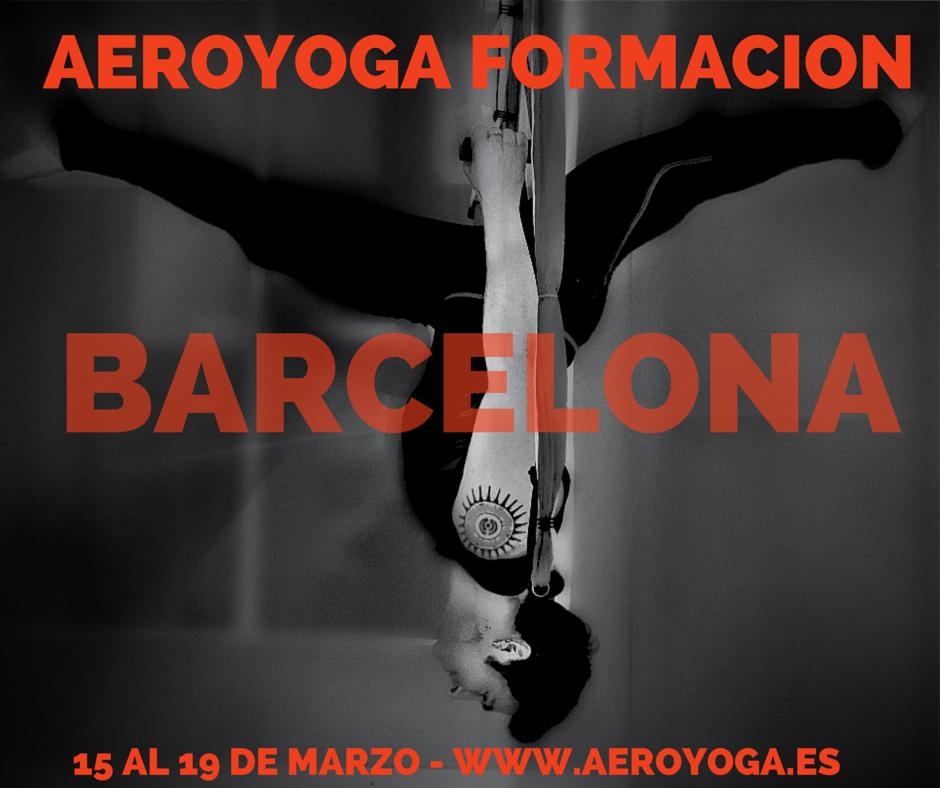 Yoga aereo Barcelona- formacion