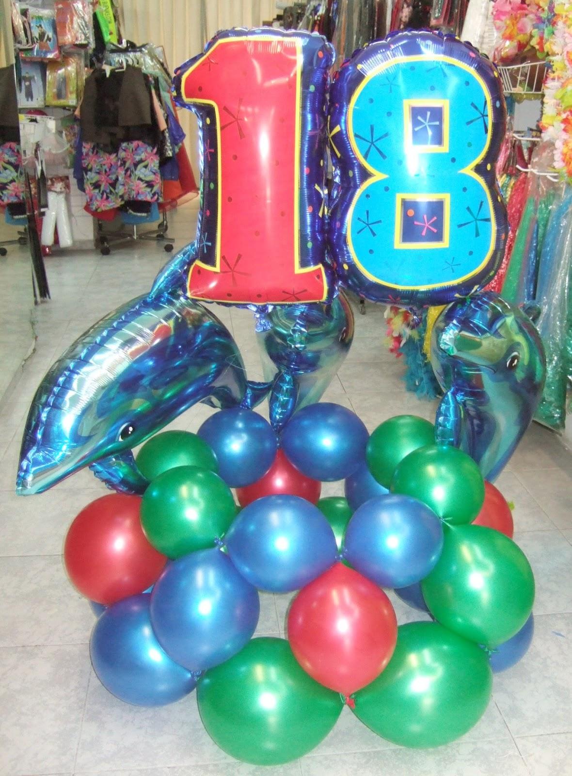 Decoraci n con globos de todo fiesta decoraciones para - 18 cumpleanos ideas ...
