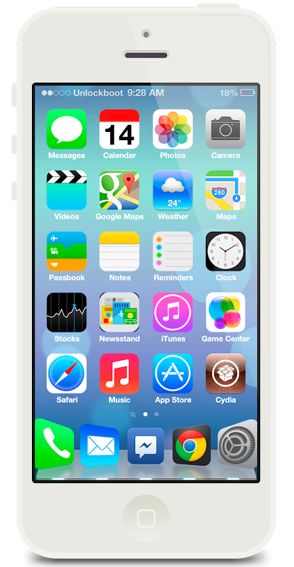 transform iOS 6 to IOS 7 theme