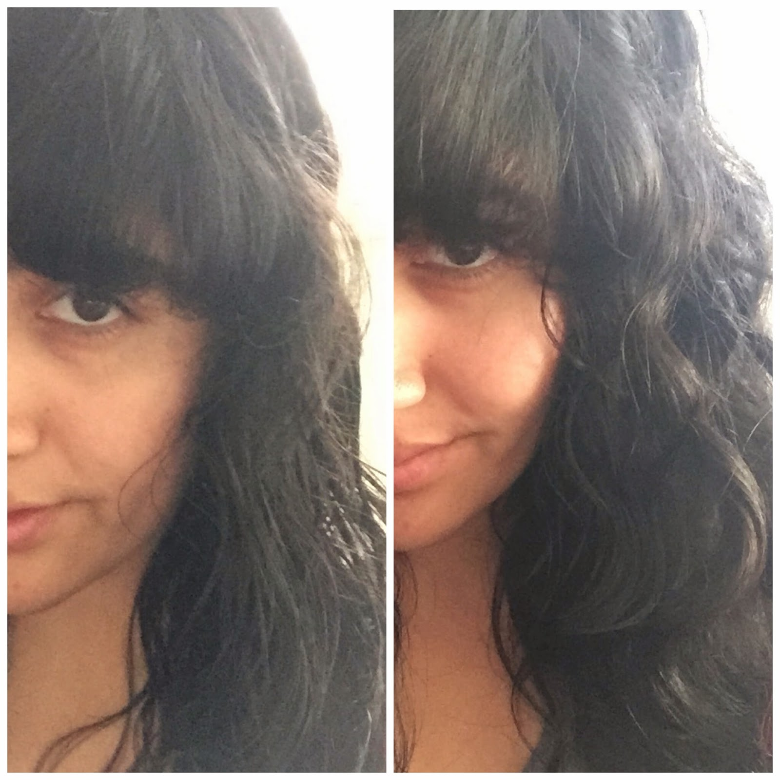 Before and After Voloom Hair Volumizing Iron