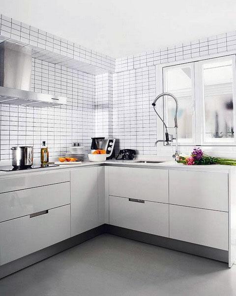 Skandynawskie Inspiracje 10 dowodów, że kafelki w kuchni   -> Kuchnia W Kafelkach