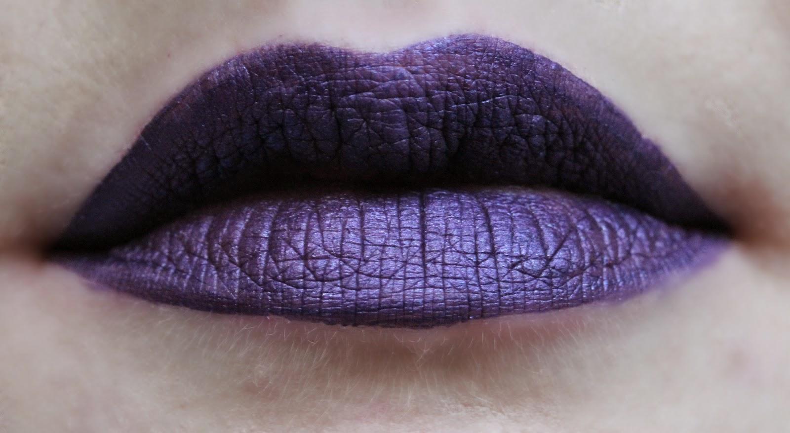 Sephora Cream Lip Stain in Polished Purple