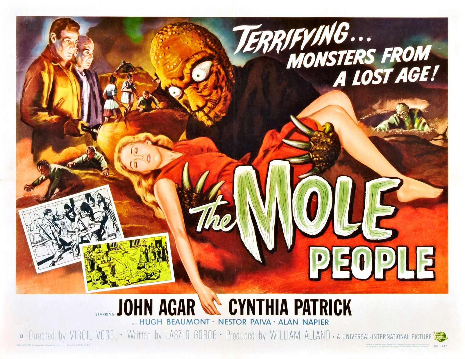 Rough Edges Tuesdays Overlooked Movies The Mole People