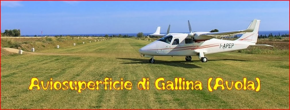 Aviosuperficie di Gallina (Avola)