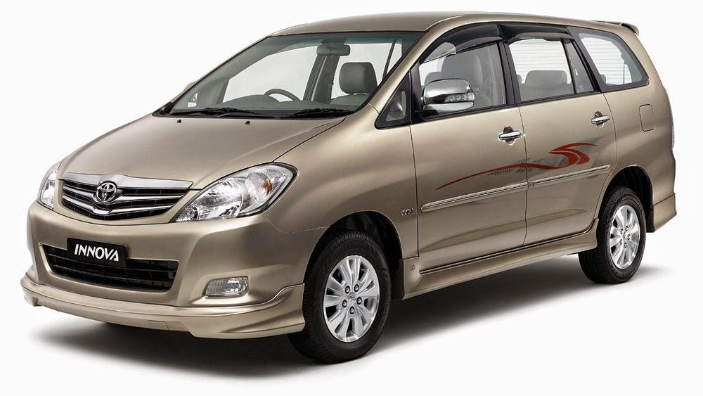 Toyota Innova : Rp 350.000