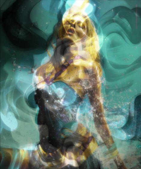 Brano Hlavac (gartier) deviantart ilustrações cores psicodélicas colagem propaganda