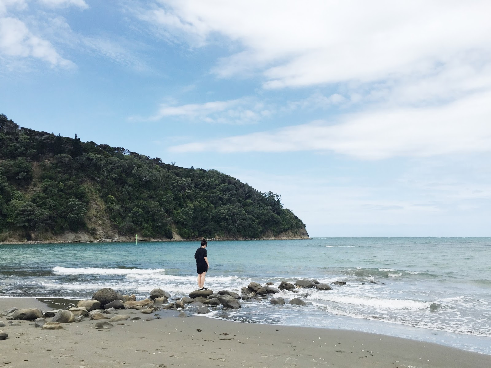 New Zealand Beach Travel Blogger