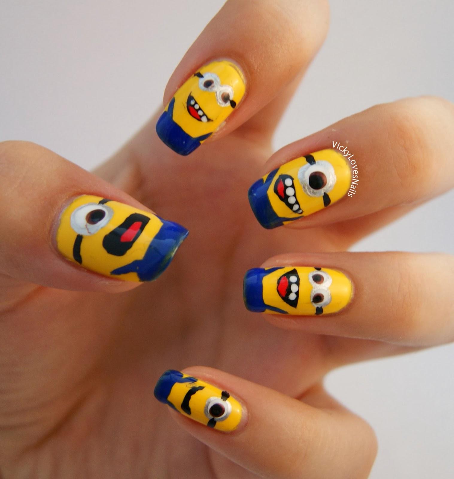 Vicky Loves Nails!: Minion Nails