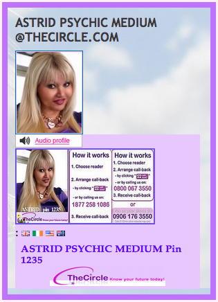 ASTRID PSYCHIC MEDIUM