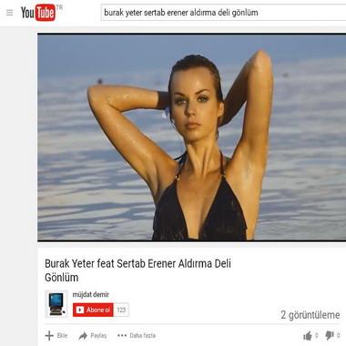 youtube com - burak yeter - sertab erener - aldırma deli gönlüm