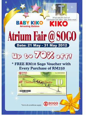 Baby Kiko KIKO Atrium Fair 2012