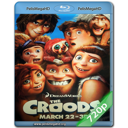 LOS CROODS: UNA AVENTURA PREHISTORICA (2013) 720P HD MKV ESPAÑOL LATINO