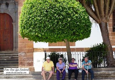 maxima temperatura en España, Gran Canaria, en Tasarte, La Aldea de San Nicolás