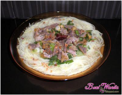 Resepi Mudah Cara Buat Bihun Sup Daging Herba Utara Sedap
