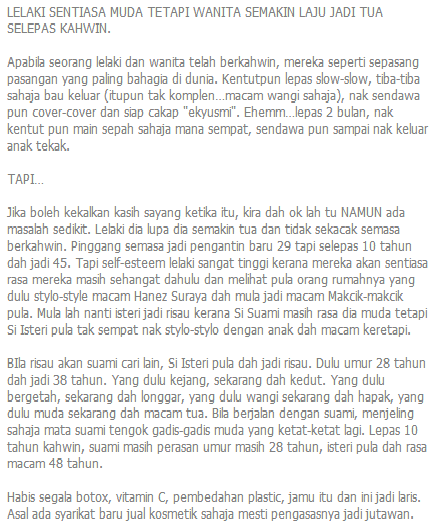 Well said Pak Aji Saiful Nang
