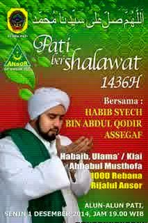 Pati Bershalawat, 1 Desember 2014